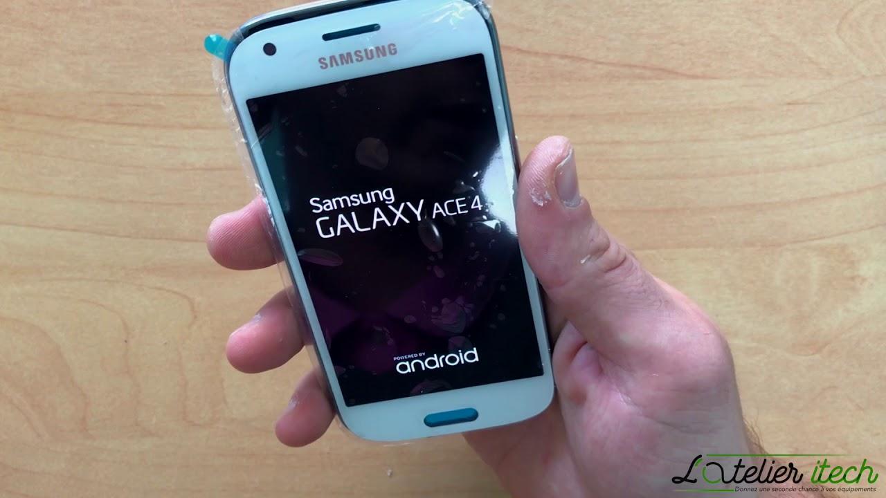 Tuto Remplacement Cran Vitre Tactile Amoled Samsung Galaxy Kesing Ace 3 4 G357fz