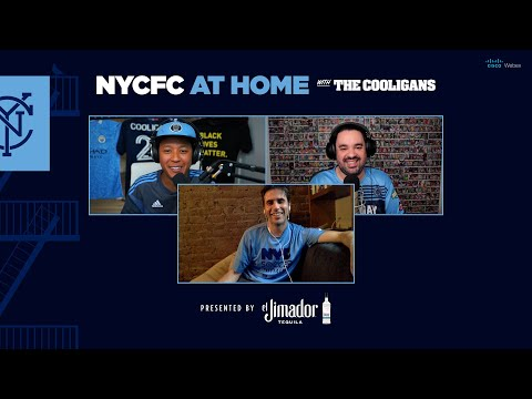 NYCFC at Home with The Cooligans   Paul Jeffries talks NYC Soccer Initiative and Soccer in the City