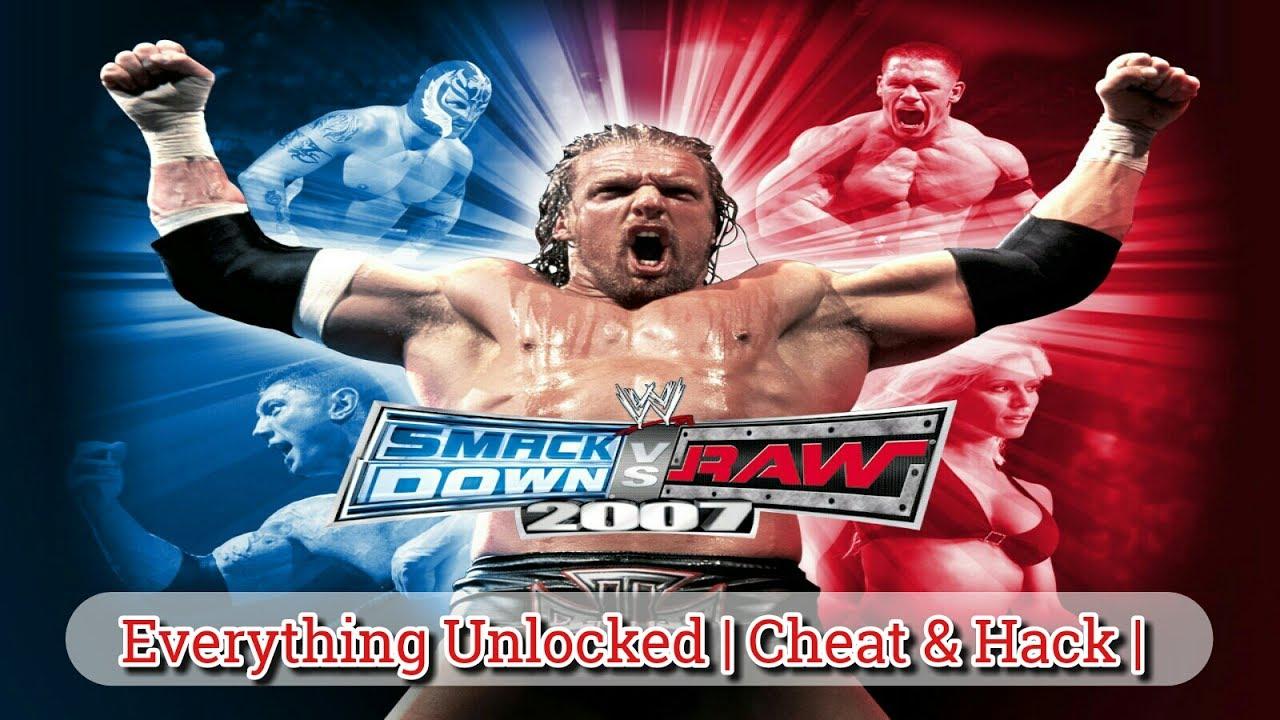 raw vs smackdown 07 cheats