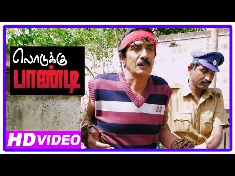 Lodukku Pandi Tamil Movie | Scenes | Manobala And Kadhal Dhandapani Got Arrested | Karunas