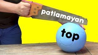 Bu Top Patlamıyor! - Patlamayan Topu Balta, Testere, Karambit ile Test Ettik