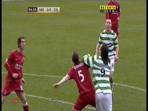 2009-01-18 Aberdeen v Celtic