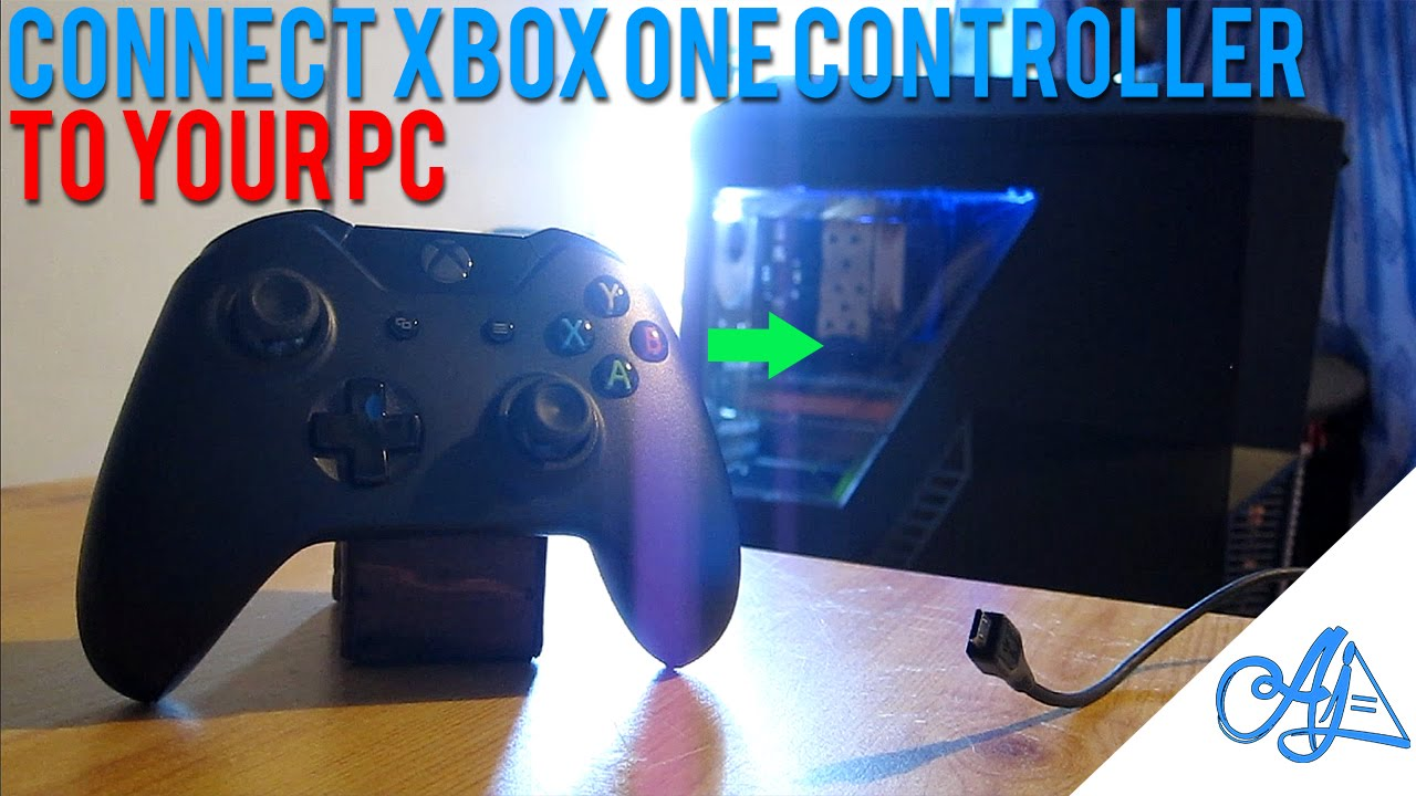 How to connect setup xbox one controller with a pc windows10 8. 1.