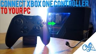 Connect Xbox One Controller to PC 2016: Windows 10/8/7