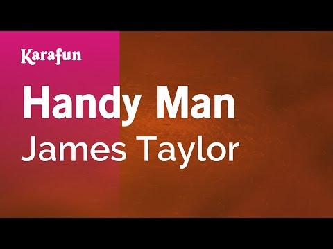Karaoke Handy Man - James Taylor *