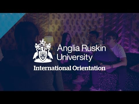 International Orientation at Anglia Ruskin University