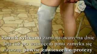 Repeat youtube video Ortotyka, Proteza nogi, włókno węglowe, silikon liner, lej testowy, protezy kończyn, amputacja