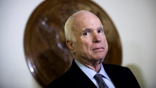 Trump responds to death of McCain