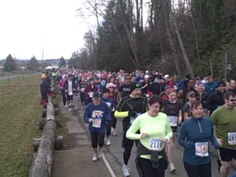 Seattle's 2012 Resolution Run 5K & Polar Bear Dive