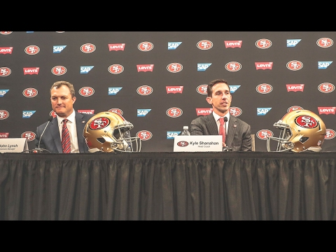 49ers HC Kyle Shanahan, GM John Lynch Full Introductory Press Conference