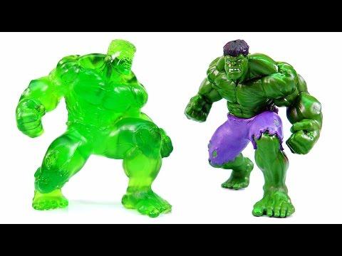 DIY Gummy Hulk ! Avengers Hulk Jelly Recipe | MonsterKids