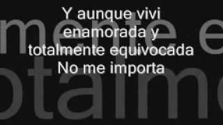 Selena-No Me Queda Mas Lyrics