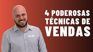 Como Vender: 4 técnicas de vendas altamente poderosas de Diego Maia