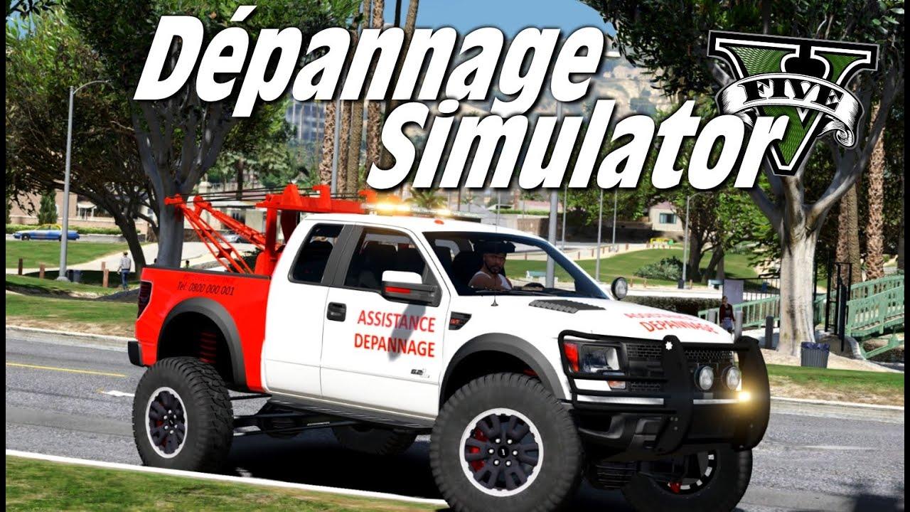 Gta 5 D 201 Pannage Simulator Youtube