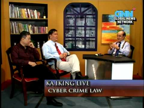 Ka Iking GNN TV show, on new Cybercrime Prevention Act