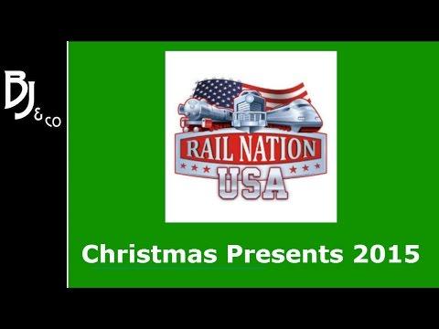 Rail Nation  - Christmas Present Locations USA Scenario 2015