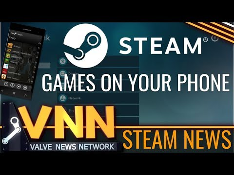 All Steam Games on Phones! - Steam Link App Announced