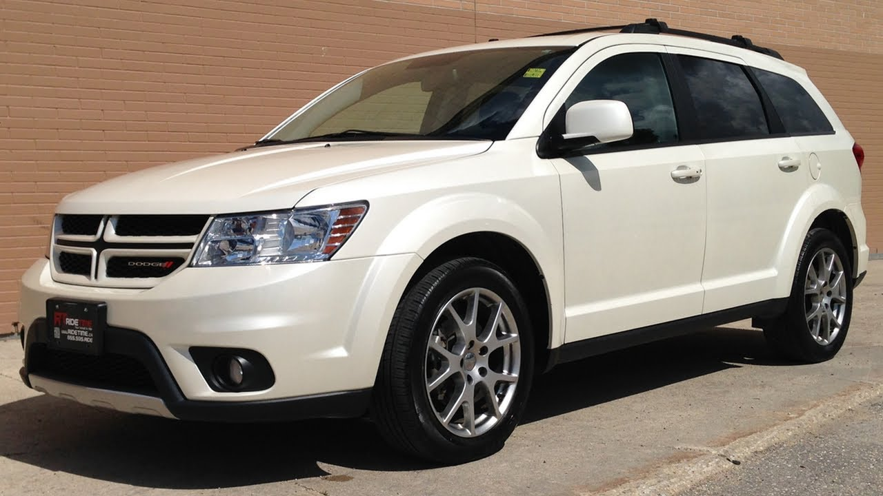 2013 dodge journey r t awd winnipeg mb 7 passenger navigation youtube. Black Bedroom Furniture Sets. Home Design Ideas