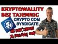 CRYPTO COM - Syndicate czyli jak kupić Bitcoin za połowe ceny. zarabiaj kryptowalutę CRO na Stake
