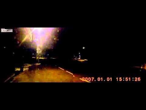 Police post car accident Latvia