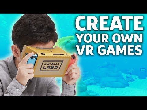 Nintendo Labo Lets You Make Your Own VR Games