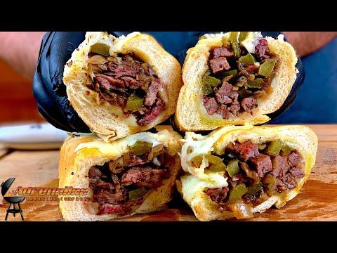 Steak Sandwich | Ribeye Vs. Skirt | Slow 'N Sear Kamado
