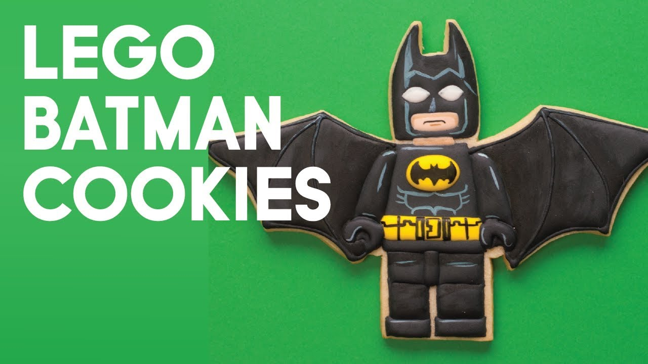 Sugar Cookie Decorating - Lego Batman Cookies - How to ...