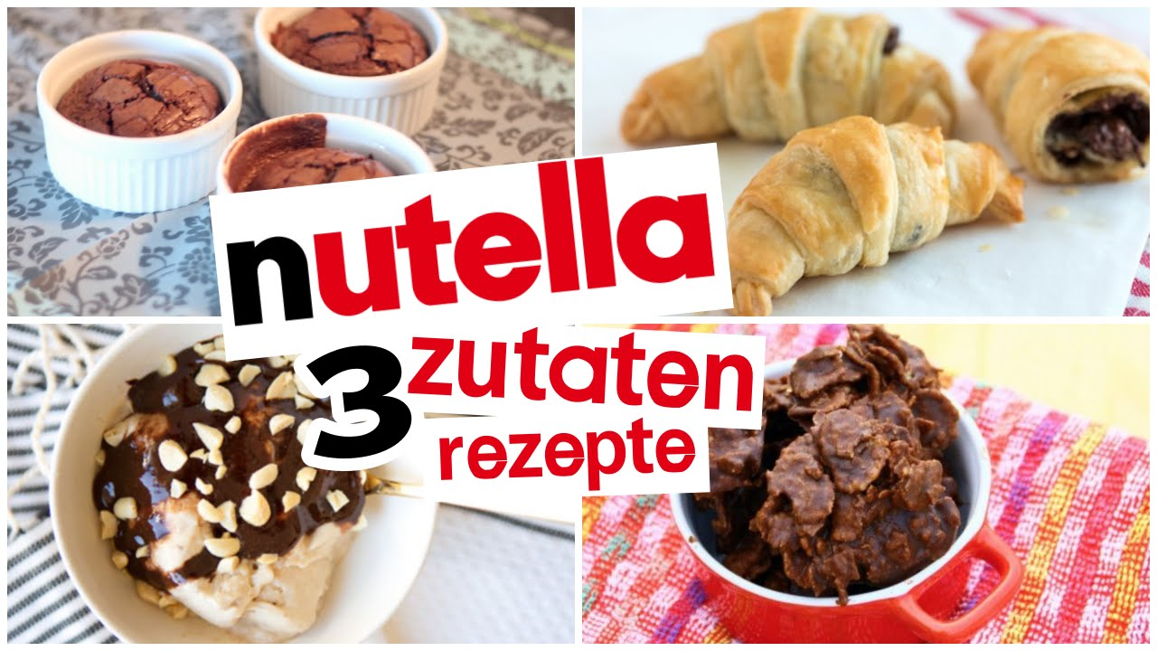 Backrezepte nutella