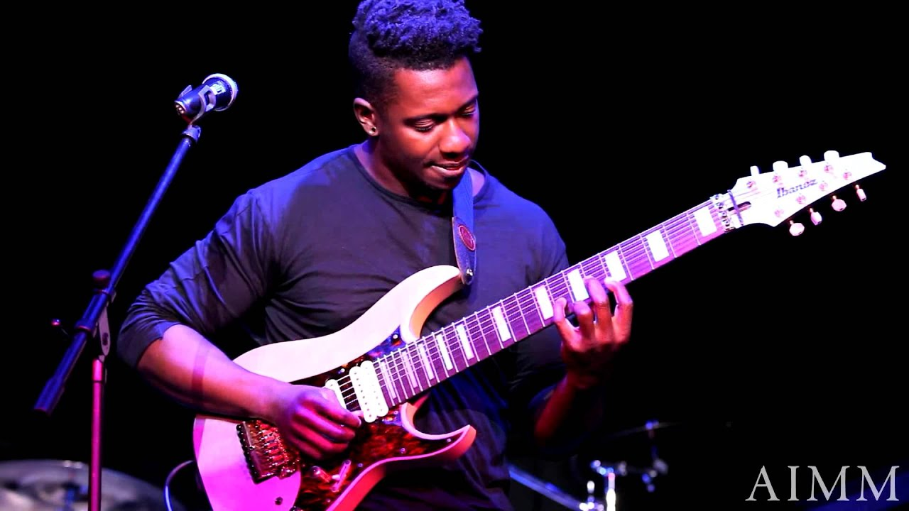tosin abasi at aimm performing tempting time youtube