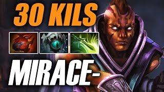 Liquid Miracle • Anti-mage • 30 Kills — Pro MMR Gameplay Dota 2