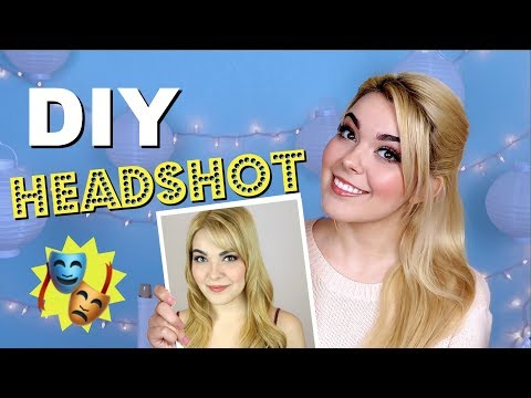 How To DIY Acting Headshots! | Katherine Steele