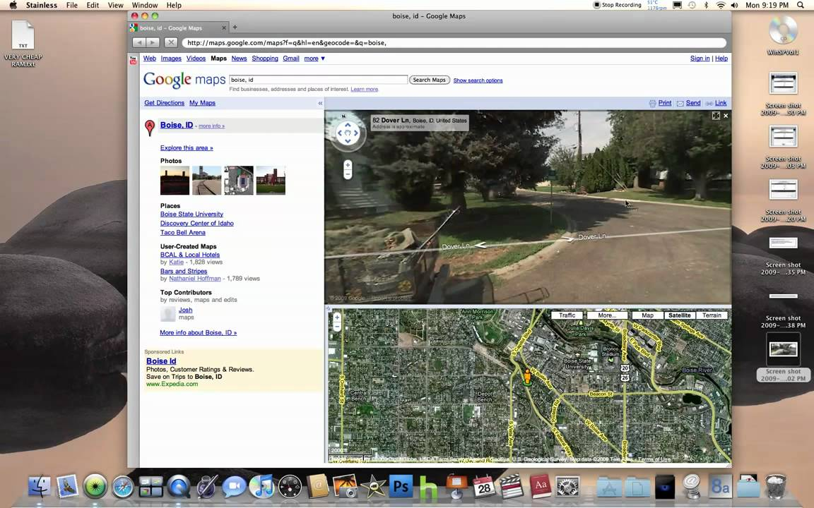 Mail Lady Blew Up Motorbike on Google Maps Street View (Boise, ID ...