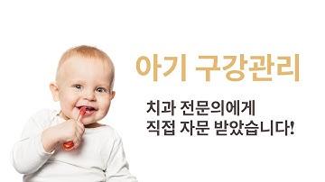 건강한 유치관리, 젖니 관리의 모든것   아기 구강관리  How to Care for Baby