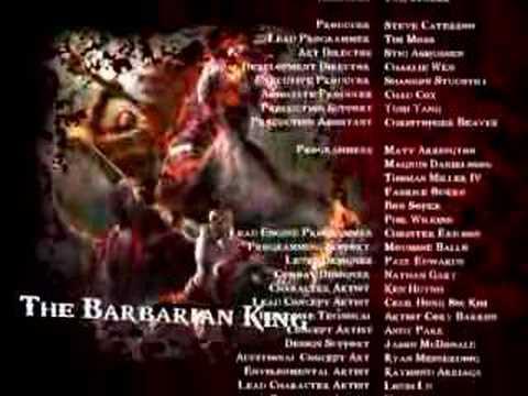 God of War 2 Fake Credits