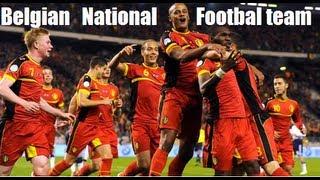Belgian National Football Team ►We go to Brazil   2014  