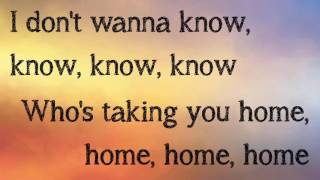 Maroon 5 - Don't Wanna Know (Lyrics) [HD]