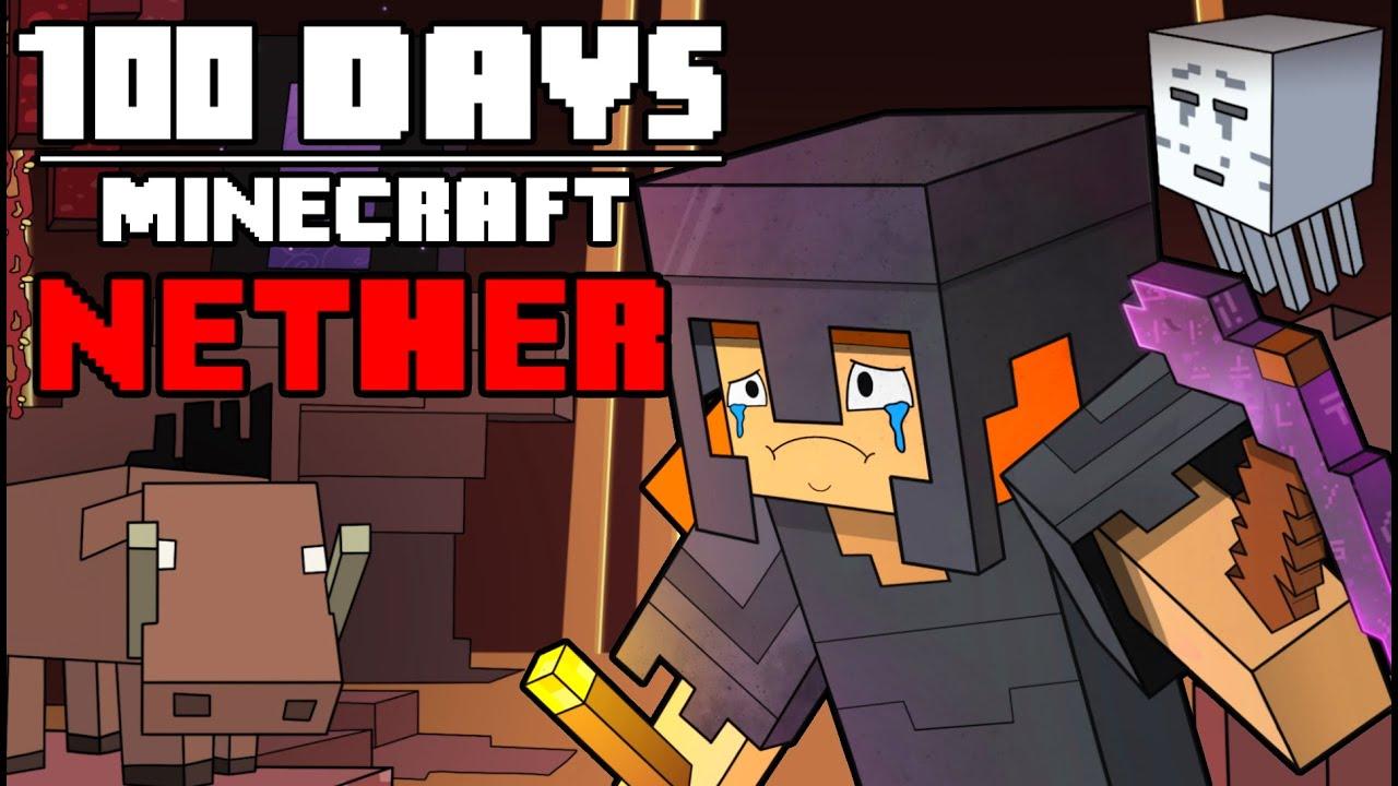 Download 100 Days - [Minecraft Nether]