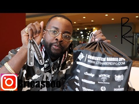 BRICASSOOTV | CT 2019 BARBER EXPO ! PART 1