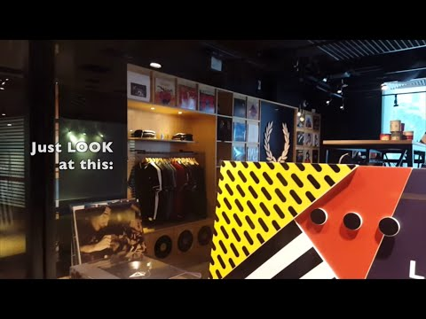 Vinyl comeback: Fred Perry shop with Vinyl!