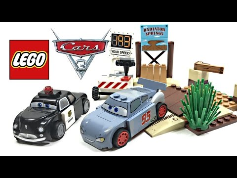 LEGO Cars 3 Willy's Butte Speed Training review! 2017 set 10742!