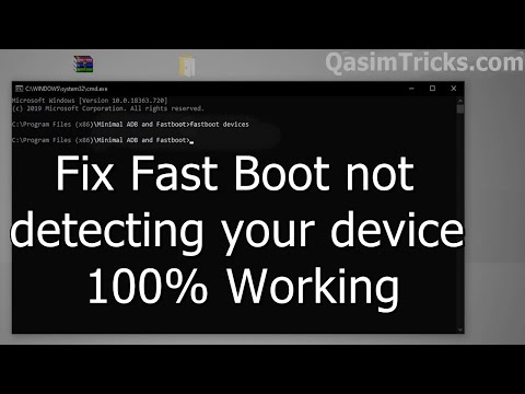 How To Fix Fastboot Device Not Detected Fastboot Waiting For Device Fixed 2020