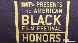 Black Enterprise on the ABFF Honors Red Carpet