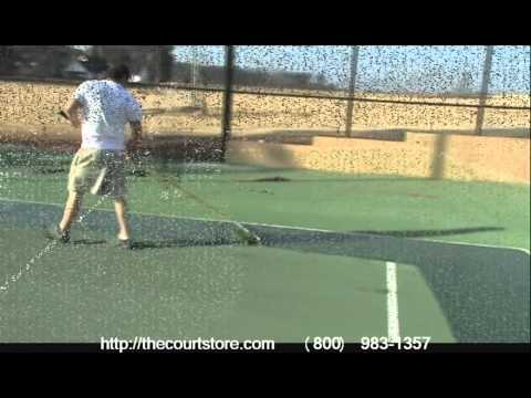 Tennis Court Surfacing Video