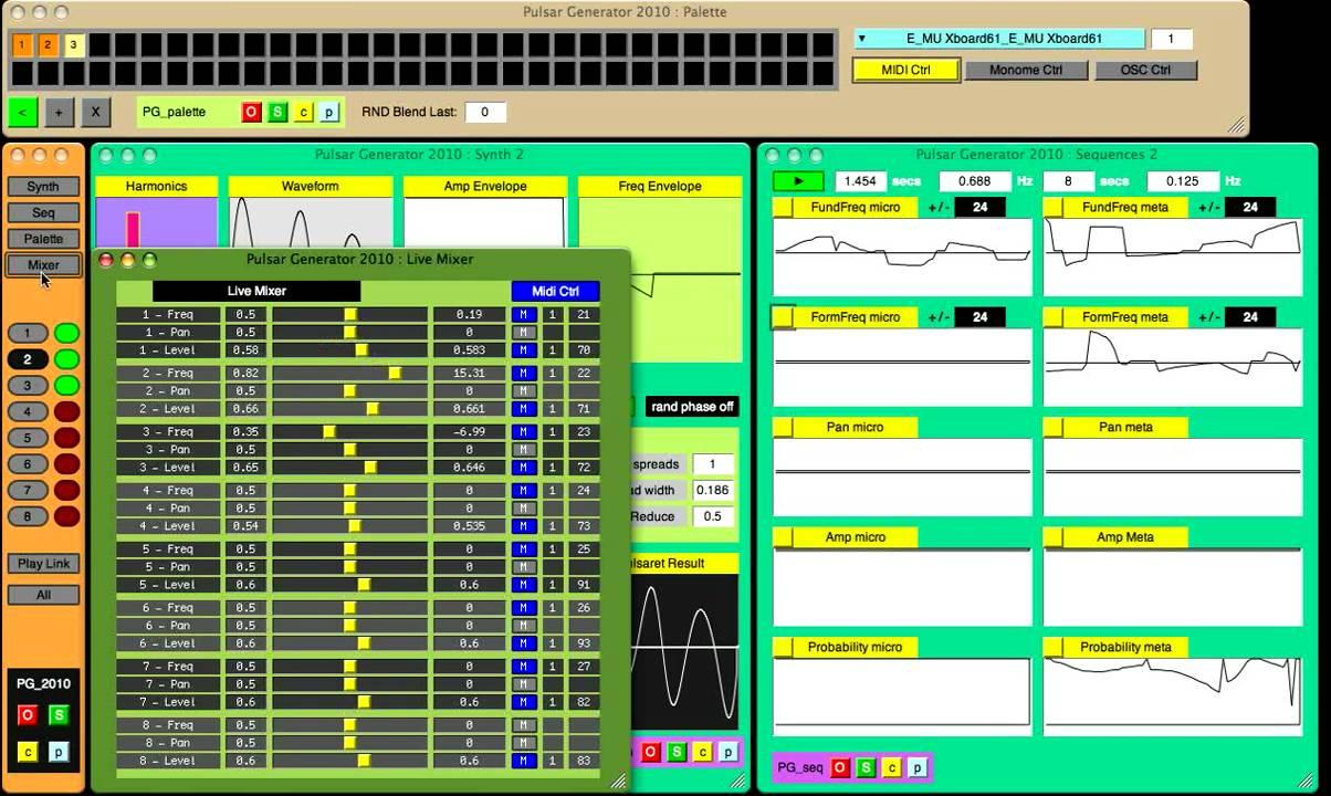 number mixer generator