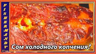 Копчёный сом Дымогенераторы холодного копчения Hobbi Smoke рыба Рецепты27rus