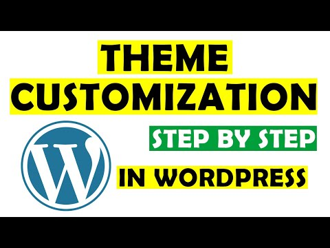 wordpress theme customization step by step urdu - hindi