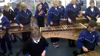 ST KATHARINE Girls School JHB (grade six class 2012) playing Mumoyo
