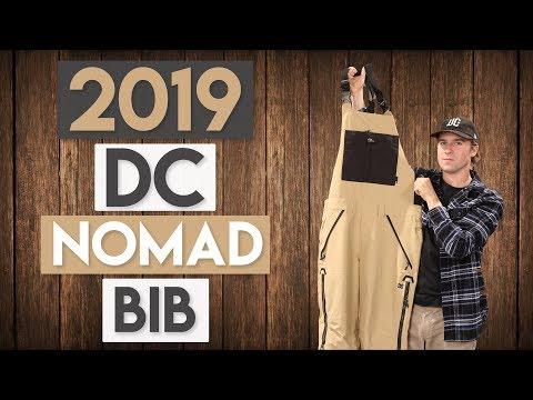 2019 DC Nomad Bib Snowboard Pants Review