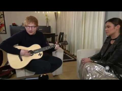 Ed Sheeran  Castle On The Hill  Live On RTL2 News