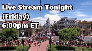 Live Stream Announcement - 7-20-18 - Walt Disney World | ResortTV1 thumbnail